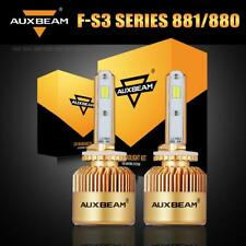 Auxbeam 881 880 CSP LED Headlight Fog Bulb 8000LM for 99-02 GMC Sierra 1500 2500