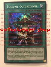FUEN-IT057 Fusione Coscrizione Fusion Conscription SUPER RARA CARTA IN ITALIANO