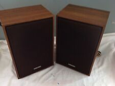 Pair of Speakers for  Toshiba Solid State Stereo Music Centre SM 102
