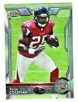 2015 Topps Chrome Mini #121 TEVIN COLEMAN RC Rookie Atlanta Falcons