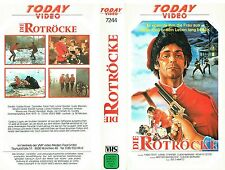 (VHS) Die Rotröcke - Fabio Testi, Guido Mannari, Lynne Frederick, Renato Cestiè