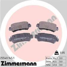 1x Bremsbelagsatz  Scheibenbremse ZIMMERMANN 25540.145.1