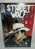 Street Wolf  #1 Blackthorne Publishing Comic Book 1986