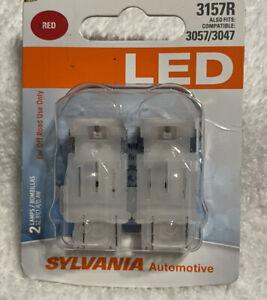 Sylvania LED 3157R Pair Set LED Lamps Bulbs 3057/3047 NEW
