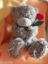 Me To You peluche ourson 20 cm assis *-* TENDRESSE *-* avec une rose rouge