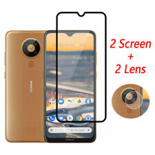 For Nokia 5.3 6.2 7.2 Camera Lens Film + 9H Tempered Glass Full Screen Protector