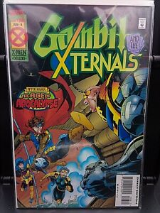 °GAMBIT & THE XTERNALS #4° A World witouth Xavier: Age Of Apocalypse US Marvel