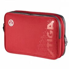 Table Tennis Case: Stiga Hexagon Double Bat Wallet – Red/Black