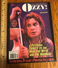 Ozzy Osbourne/ Magazine/ Rip/ Photo Special/ 1992/ Collector's Edition/ Zakk Wyl