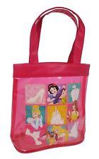 New Beautiful Disney Princess Girls Pink Tote Waterproof Shopping Bag Accessory