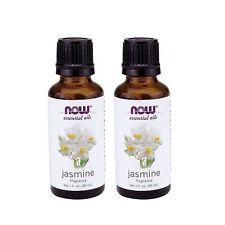 Now Foods Essential Oils, Jasmine Oil, 1 fl oz (30 ml) - Pack of 2