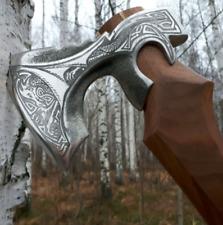 """Premium Viking's Combat  Axe """"Dragon""""  Handmade Custom Handforged"""