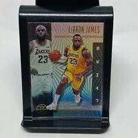 2019-20 Panini Illusions Lebron James #20 Base Card Los Angeles Lakers