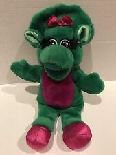 "1992 Lyons Group Dakin Barney & Friends Baby Bop 15"" Hand Puppet Soft Plush (B4)"