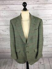 BLADEN SUPASAX Tweed Jacket/Blazer - 44R - Green - Great Condition - Men's