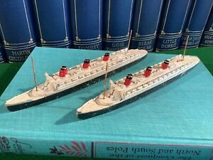 Vintage Triang Minic Ships