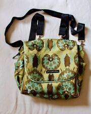 Petunia Pickle Bottom Diaper Bag Backpack Cross Body Green Gold Olive Brown Teal