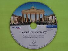 CD NAVIGATION DEUTSCHLAND MERCEDES BENZ COMAND APS DX 2008 C CL CLK E G M S SL 8