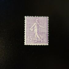 FRANCE TIMBRE TYPE SEMEUSE N°197 NEUF ** MNH (QUELQUES POINTS)