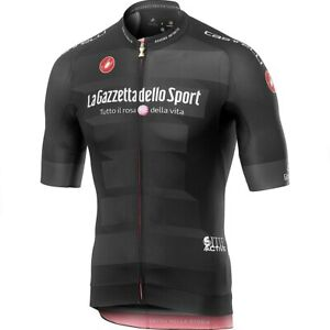 Castelli Giro Race Cycling Jersey -Large -Black -Race Fit - The Best Design!!