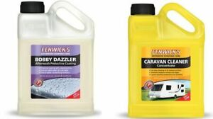 Fenwicks Caravan Care Cleaner 1 Litre & Bobby Dazzler Pack 1 Litre