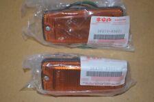 Suzuki SJ Sierra Samurai Front Side Marker Lamp LH + RH Pair Set New SGP Genuine