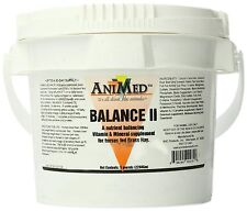 Balance II 5 lbs Vitamin Minerals Anti-oxidants Daily Supplement Grass Fed Horse