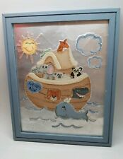 Noah's Ark Wall Art Children's Bedroom Playroom Nursery Decoration Signed