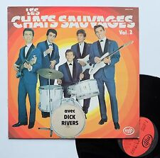 "Vinyle 33T Les Chats Sauvages (Dick Rivers)  ""Vol.2"""