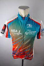Scody HBA full ZIP bike Cycling Jersey maillot rueda camiseta talla s 48cm i-20