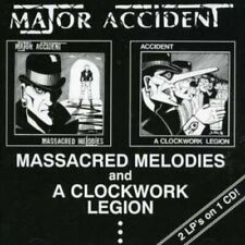 Major Accident - MASSACRED MELODIES / A CLOCKWO - CD - New