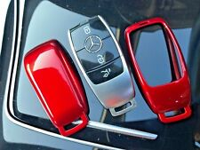RED HIGH GLOSS HARDSHELL PROTECTIVE CASE MERCEDES-BENZ 3/4 BUTTON KEY FOB W213