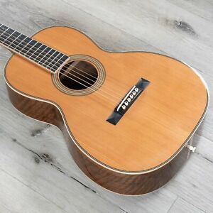 Martin Custom Shop 00-28 Inspired Parlor Acoustic Guitar, Walnut and Red Cedar