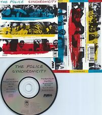 THE POLICE-SYNCHRONICITY-83-USA-A&M RECORDS CD 3735 DIDX 1  101A11-DADC-CD-MINT