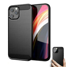 Shockproof Silicone ARMOUR CASE For iPhone 12,Mini,11 Pro, XR, X Max Cover Black