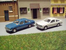 Konvolut PKW Opel Senator A Limousine + Monza Coupe 1:87 H0 WIKING K467