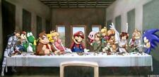 Nintendo Last Supper 24 x 14 Custom Yugioh Playmat Mtg Play Mat Pokemon