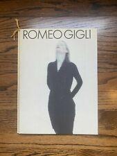 Gorgeous Romeo Gigli Look Book Steven Meisel Peter Lindbergh Mats Gustavson