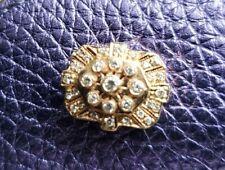 14K YELLOW GOLD DIAMOND JOSHUA SLIDE BRACELET CHARM