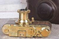 Leica  D.R.P. Vintage Camera rangefinder  Film Lens Elmar f3.5/50mm (zorki copy)