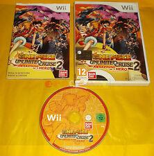 ONE PIECE UNLIMITED CRUISE 2 Nintendo Wii Ver Italiana 1ª Edizione ○○ USATO - AI