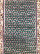 Miraculous Mir - Floral Rug  - Green Oriental Indian Carpet - 3 x 5