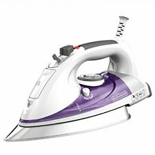 BLACK+DECKER Professional Steam Iron with Extra Large Soleplate Purple IR1350S