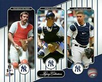 "Thurman Munson, Jorge Posada & Gary Sanchez NY Yankees Legacy Photo (8"" x 10"")"