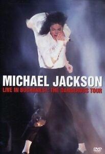 MICHAEL JACKSON Live In Bucharest: The Dangerous Tour DVD BRAND NEW PAL R4