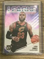 Lebron James 2019 Panini Donruss Optic League Leaders LA Lakers Card #9