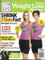 Biggest Loser Magazine Weight Loss Planner Healthy Foods Quick Easy Meals 2011