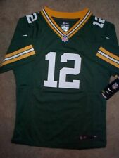 (2020-2021) NIKE Packers AARON RODGERS nfl ($60) Jersey Youth *GIRLS* (L-LARGE)