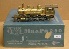 PFM/United Models brass 2-8-0, Maryland & Pennsylvania, unpainted, NEW PRICE