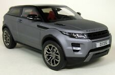 GT Autos 1/18 Scale - Range Rover Evoque Matt Grey Diecast model Car